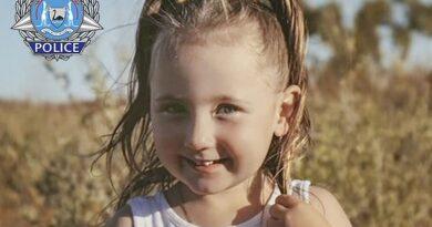 Tras desaparición de niña de 4 años Australia ofrece millonaria recompensa