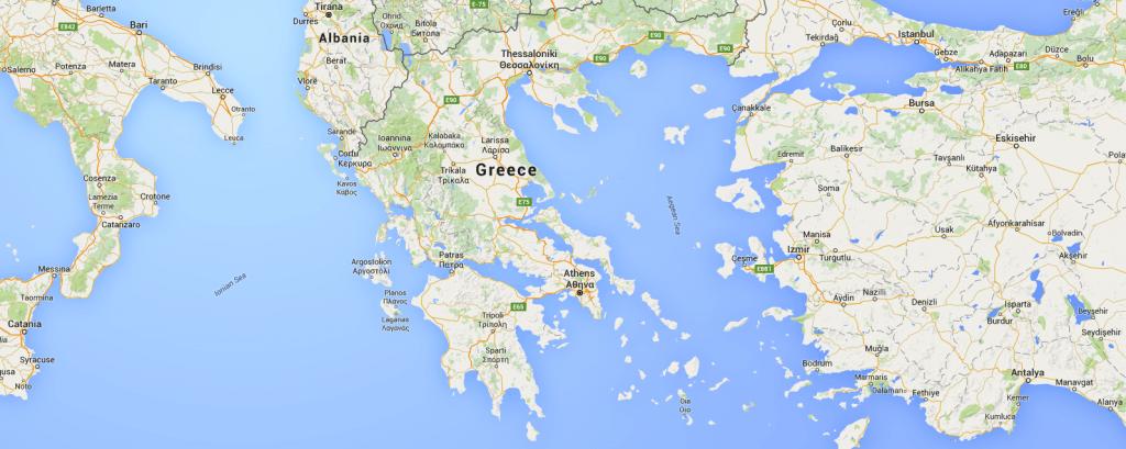 Greece-map-catamaran-charter-greece