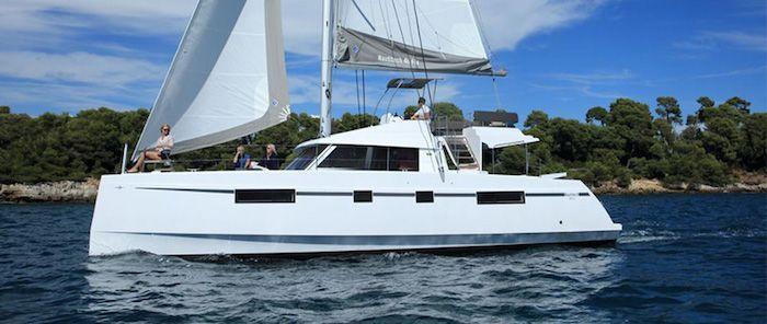 Nautitech Open 46 Fly Catamaran Charter Greece future image