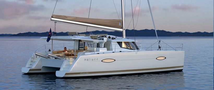 Helia 44 Catamaran Charter Greece