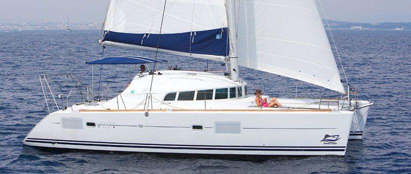 Lagoon 410 Catamaran Charter Greece