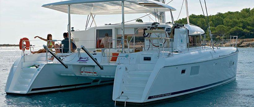 Lagoon 420 Catamaran Charter Greece