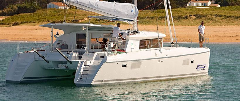 Lagoon 421 Catamaran Charter Greece