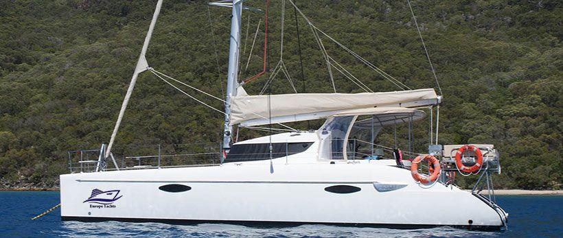 Lavezzi 40 Catamaran Charter Greece