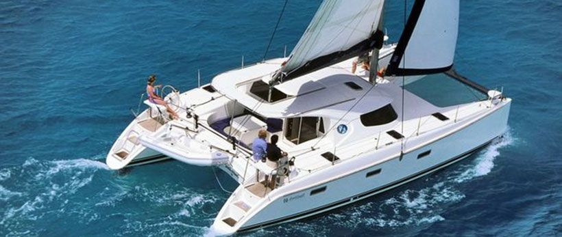 Nautitech 40 Catamaran Charter Greece