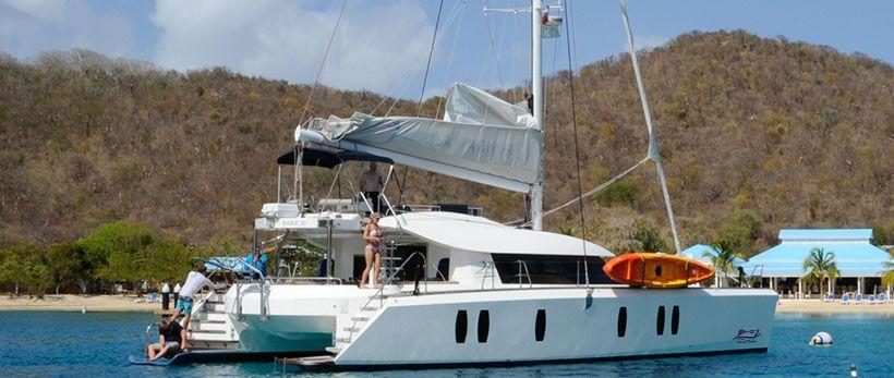 Isara 45 Catamaran Charter Greece