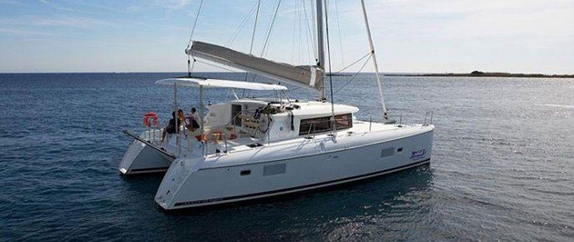lagoon 380 S2 Catamaran Charter Greece main