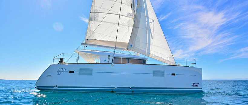 Lagoon 400 S2 catamaran Charter Greece