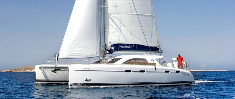 Nautitech 47 Catamaran Charter Greece