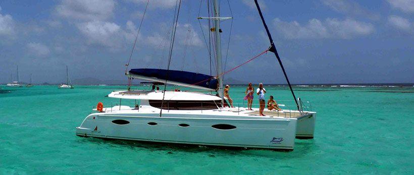 Salina 48 Catamaran Charter Greece