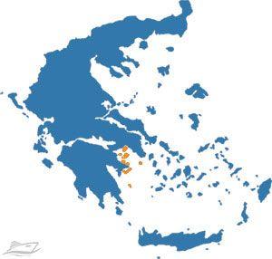 Saronic Gulf Catamaran Charter Greece