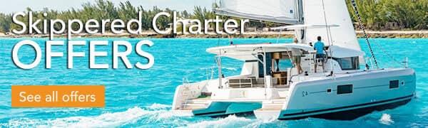 Skippered Catamaran Charter Greece