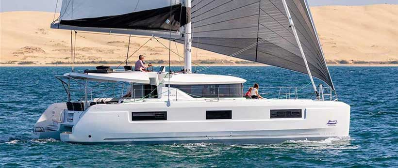Lagoon 46 Catamaran Charter Greece Main