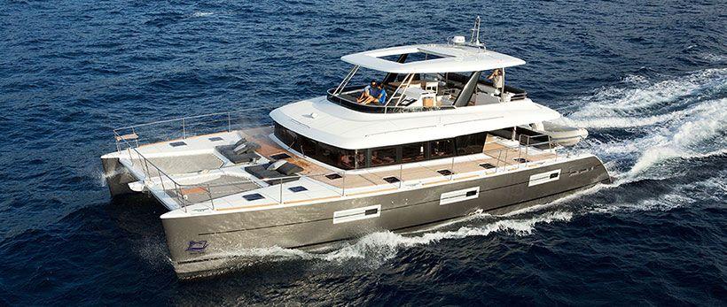 Lagoon 630 MY Power Catamaran Charter Greece Main