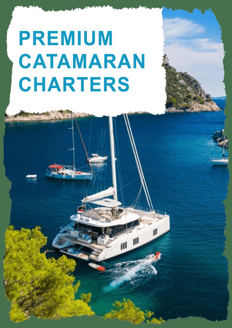 Premium Catamarans charter Greece