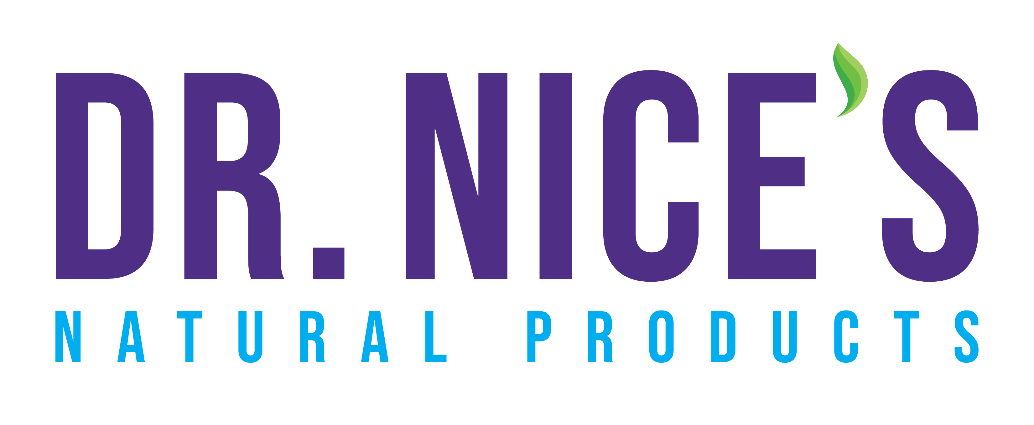 Dr. Nice's Natural Products Logo Full Color