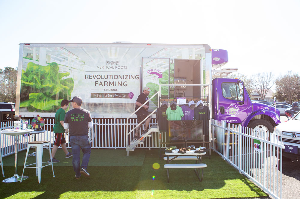 Vertical Roots hits the road in their Lettuce LocalMotive, spreading the good word of hydroponics – Charleston City Paper