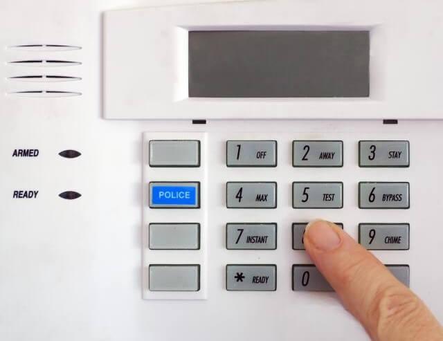 Alarm System Key Pad