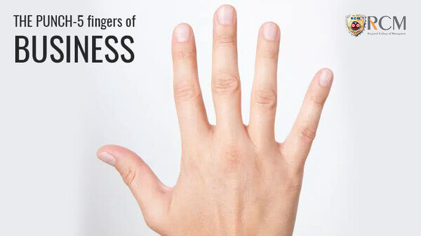 THE PUNCH – 5 fingers of Business (MBA Program Skills)