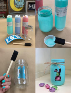 Painted Holiday Canister Craft