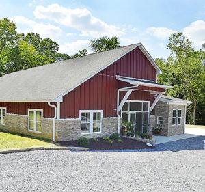 The Morgan Academy k-8 Schoolhouse located in Shepherdstown, WV.