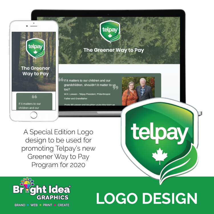 logo-design-telpay-greener-way-to-pay