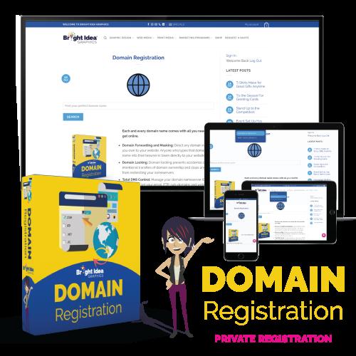 bright idea graphics domains