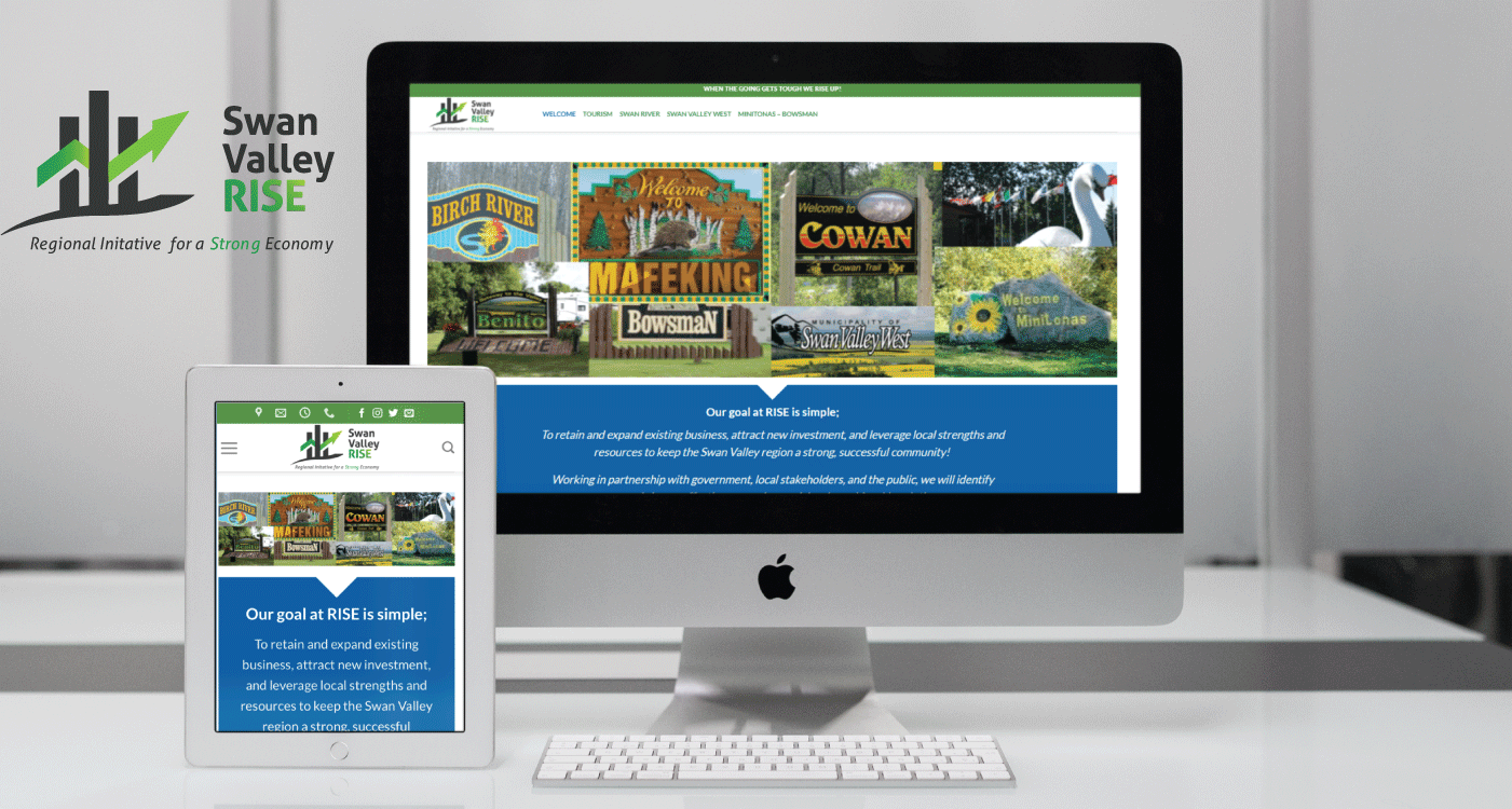 Swan Valley Rise Website Design