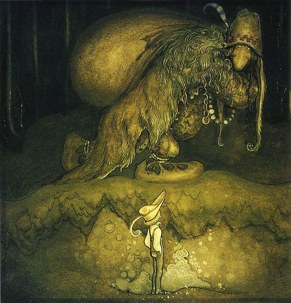 John Bauer was a Swedish painter/illustrator in the early 1900s, most famous for his fairy tales.