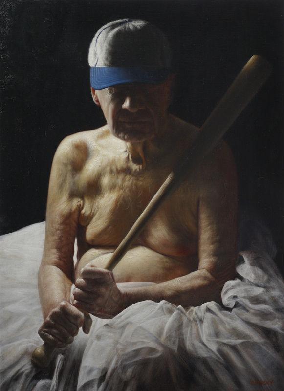 """Ballet,"" Jason Bard Yarmosky, oil on linen 44""x32"""