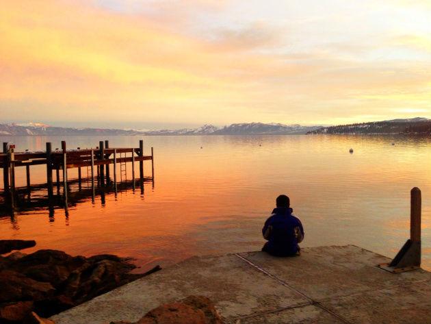 Zubair Ahmed, Lake Tahoe sunset
