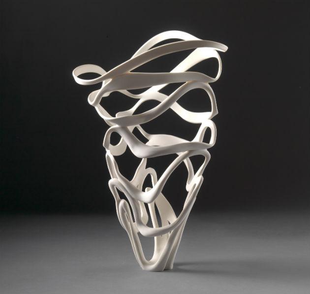 Jennifer McCurdy Ribbon Vessel