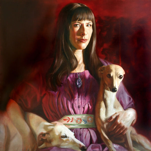 jolanda richter, self-portrait