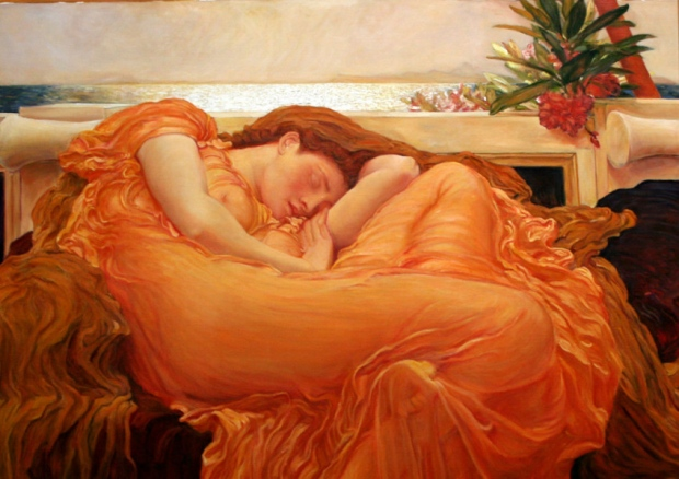 Flaming June Frederic Leighton