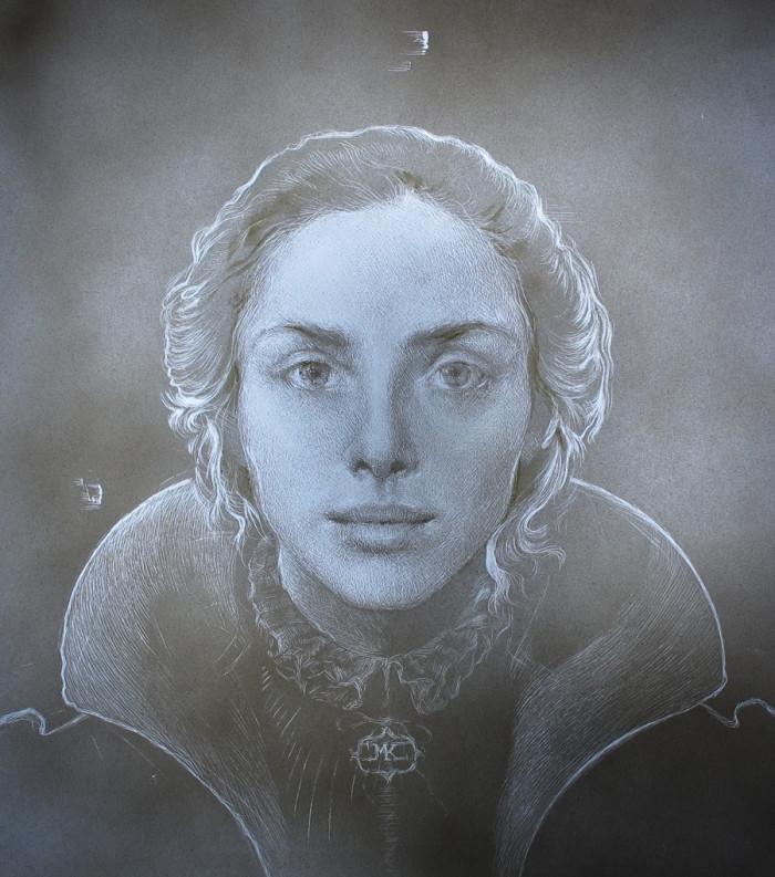 Young Queen | 13 x 13 | Maria Kreyn