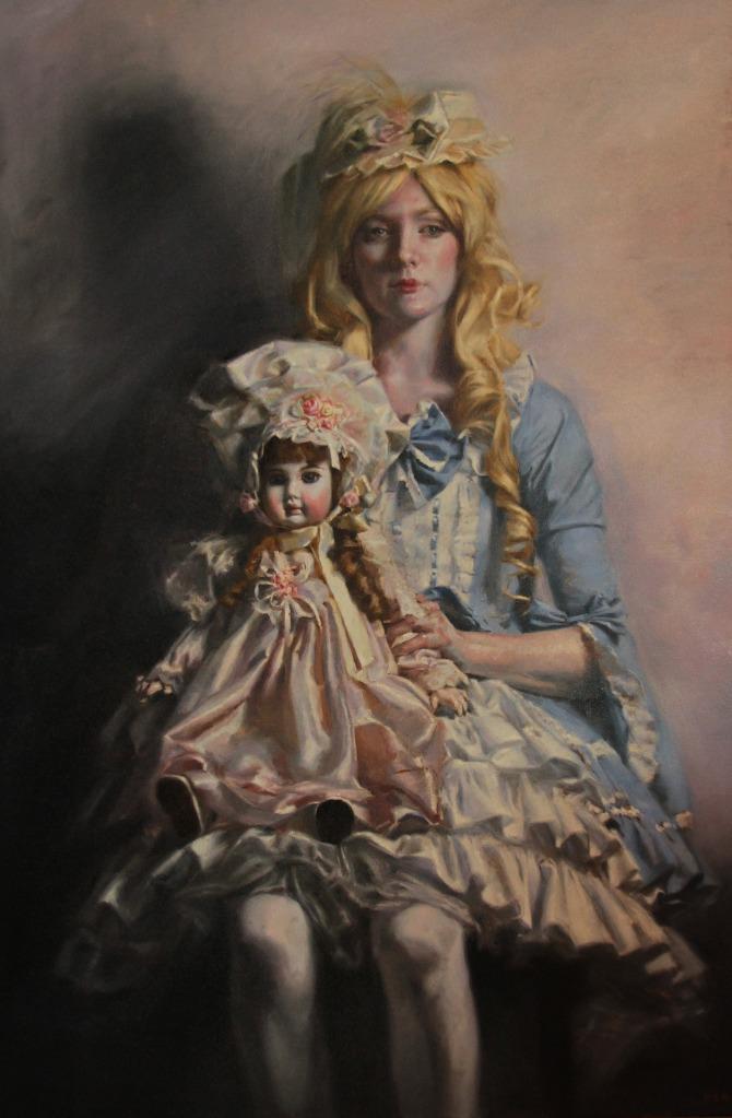 The Steiner | 54x36 | oil on canvas | Teresa Oaxaca