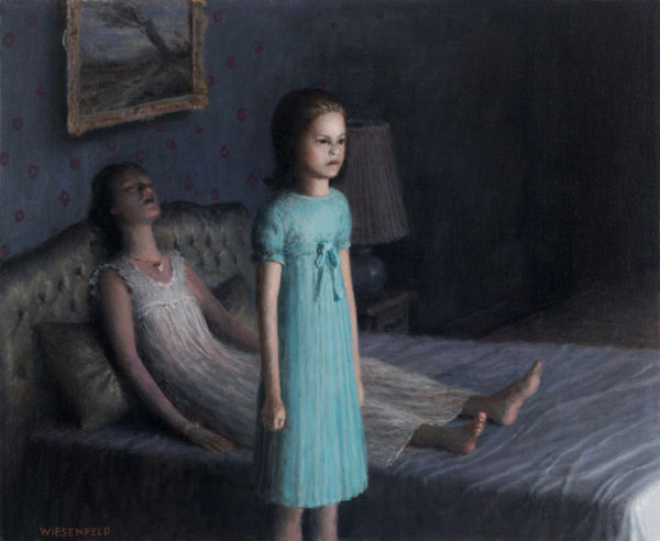 Guest | oil on canvas |15 x 18 | Aron Wiesenfeld
