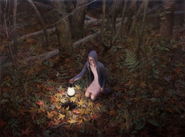 The Well | oil on canvas | 65 x 87 inches | 2011 | Aron Wiesenfeld