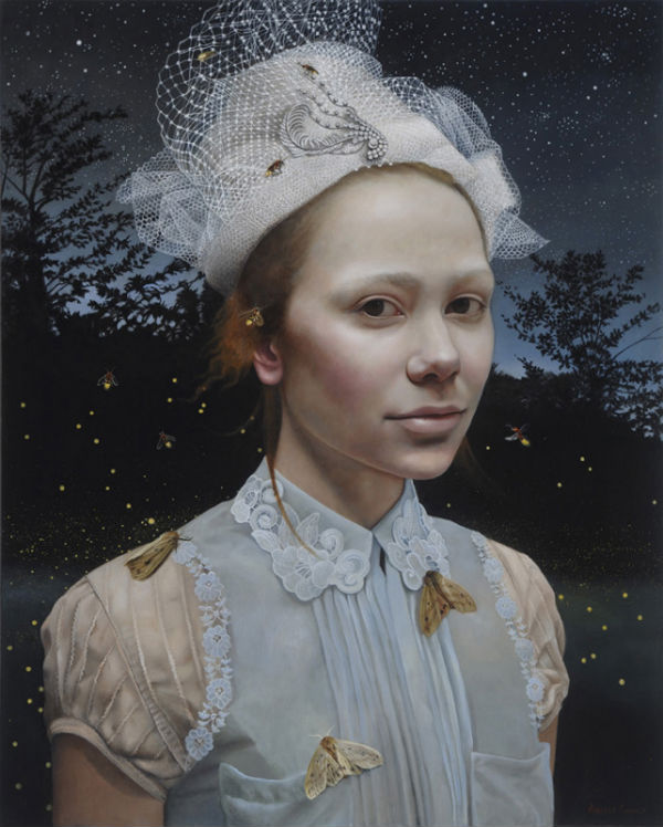 Nocturne   30x24   acrylic-on-canvas   Andrea Kowch