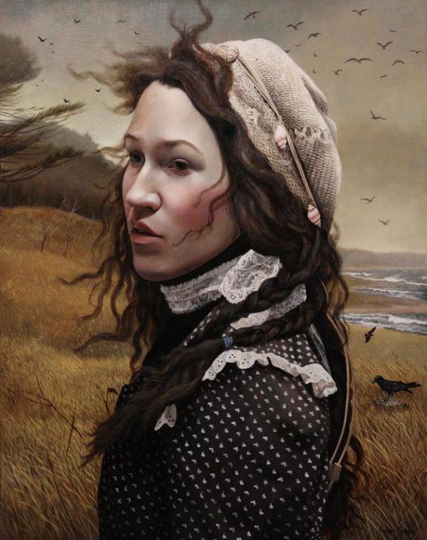 The Strand   30x24   acrylic-on-canvas   Andrea Kowch