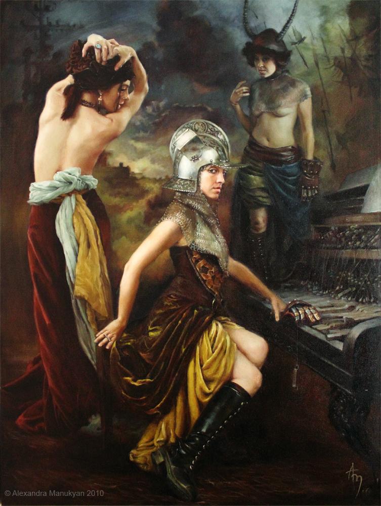 Broken Music | 30x40 | oil on canvas | ©2010 | Alexandra Manukyan