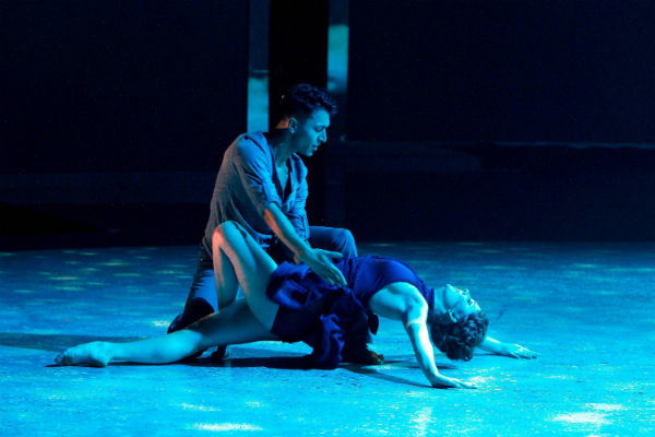 """Paul Karmiryan and Makenzie Dustman perform a passionate contemporary routine on """"So You Think You Can Dance."""""""