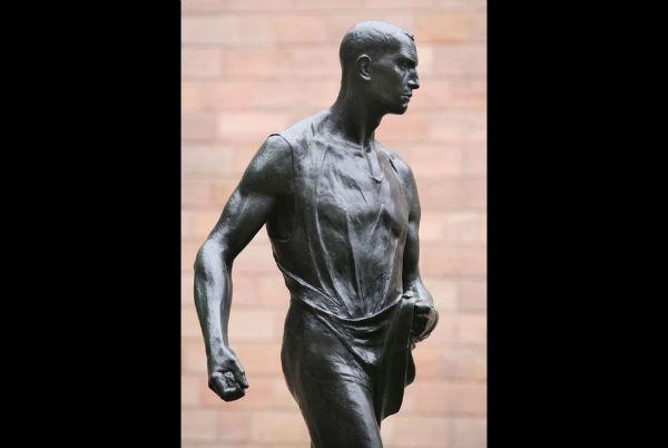 The bronze sculpture 'Saemann' (1896) by Belgian artist Constantin Meunier 600