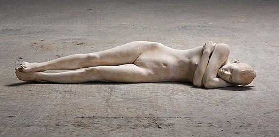 Bruno Walpoth | Bei mir | cm. 156 x 51 x 38 | 2012