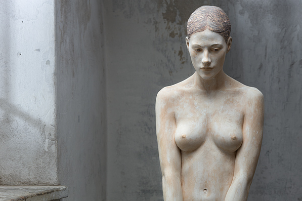 Bruno Walpoth | Should I? | cm. 165 (detail) | 2011