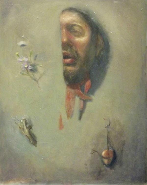 Self-portrait (close-up, cBreathe (Self-portrait)   Andres Orlowski