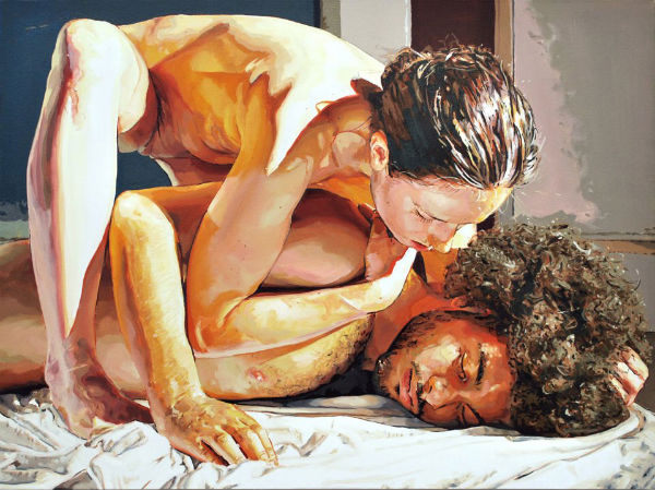 Case   2012   oil on linen   30 x 40 inches.   Patrick Earl Hammie