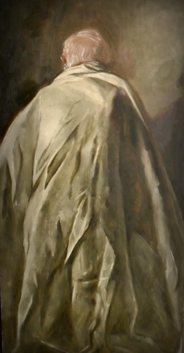 Ultimospasos   Oil on canvas   53cm x 106cm   Andres Orlowski