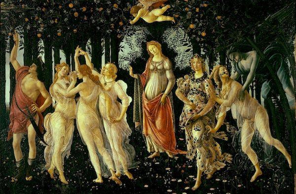 Primavera | Sandro Botticelli | 1482 | Uffizi Gallery