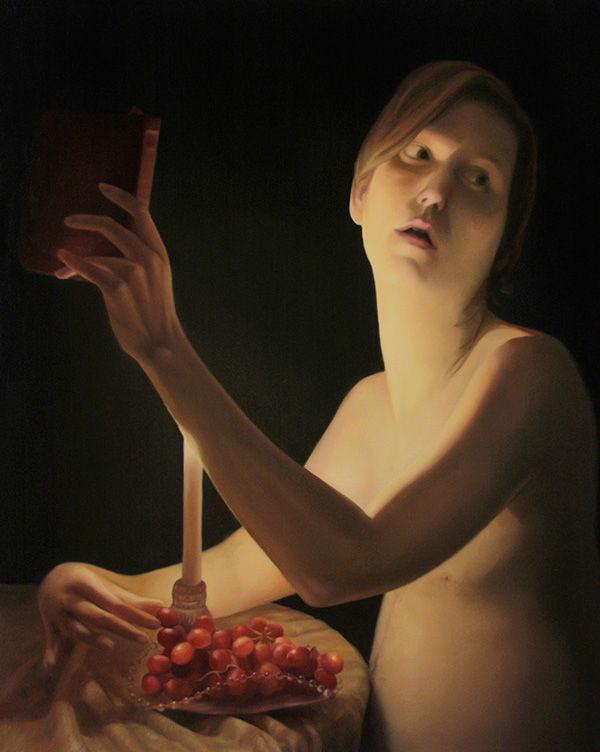 Tyger! Tyger! | 2012 | Oil on Canvas | 30x24 in. | Laura Krifka